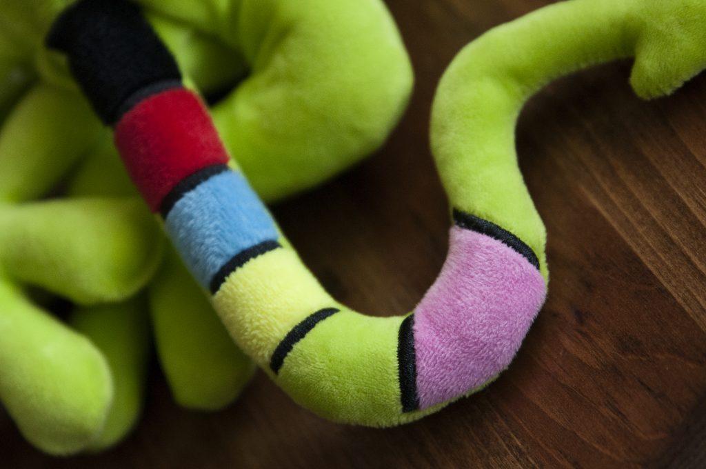 jouet serpent